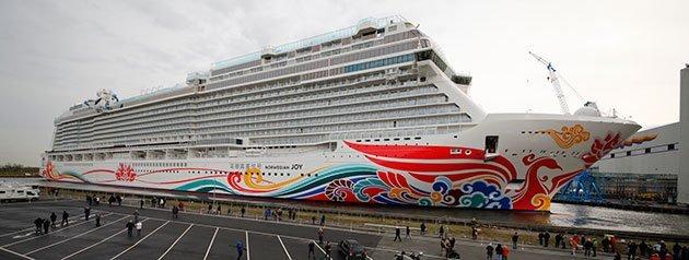 Norwegian Joy Float Out Meyer Werft Germany
