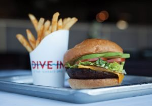 Holland America Freestyle Burger Dive in