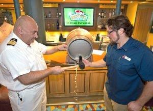 Colin Presby, Pierre Camilleri Carnival Vista Miami Brew