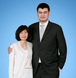 Yao Ming and Ye Li Portrait
