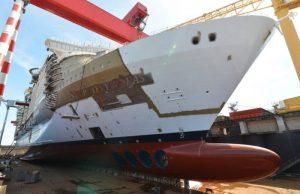 Royal Caribbean Symphony of the Seas Dry Dock