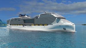 MSC LNG-powered mega cruise ships