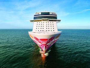 Norwegian Joy sea trial