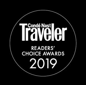 Conde Nast Traveler Readers Choice