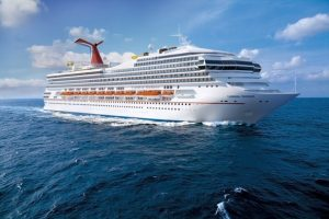 Carnival Radiance at Sea
